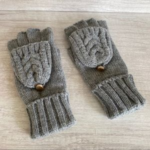 Gray Winter Gloves
